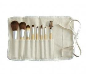 Eco Bamboo 8-Piece Makeup Brush Set